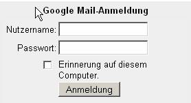 Incredimail Google Mail