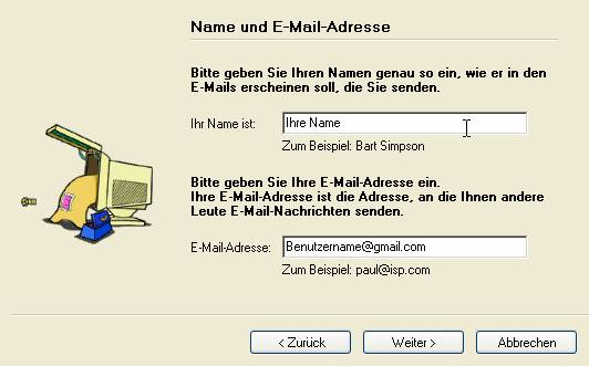 Incredimail-Gmail