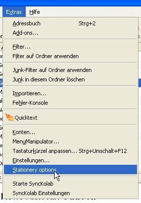 Briefpapier Mit Thunderbird Thunderbird Html Programmierung