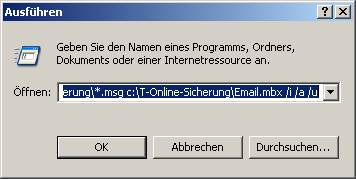 nachrichten aus t online webmail in outlook express importieren outlook express mbx2eml. Black Bedroom Furniture Sets. Home Design Ideas