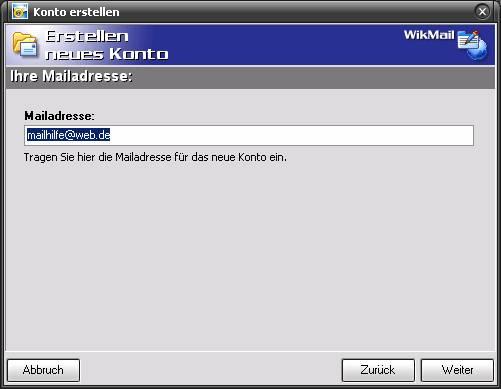 WikMail und Freemail