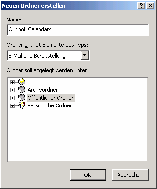 Installation Outlook Calendar