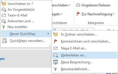 In einem Outlook Team diskutieren, anstatt allen senden