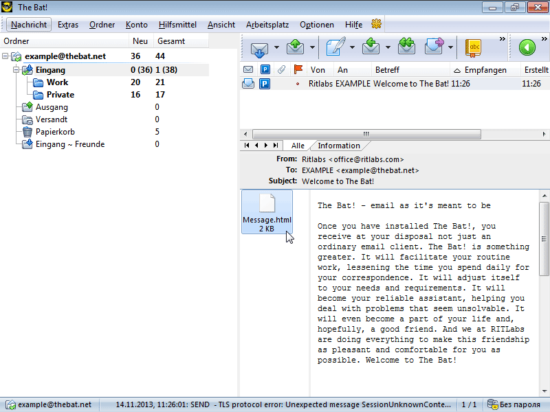 Скачать кряк для The Bat 4.2.36.4 по прямой ссылке Закачек 9430.