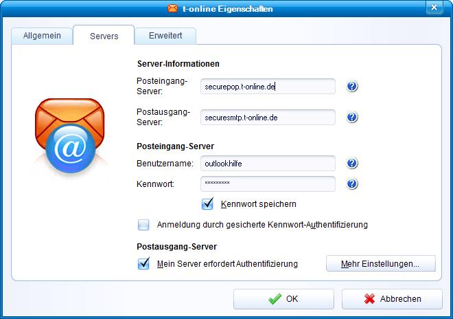 t-online ssl-server information