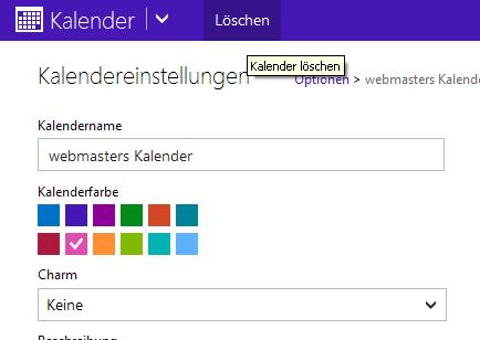 Kalender von Outlook.com löschen2