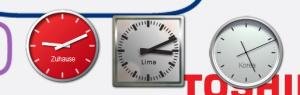 Uhren-Desktop
