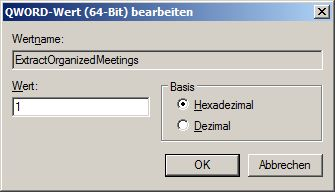 ExtractOrganizedMeetings
