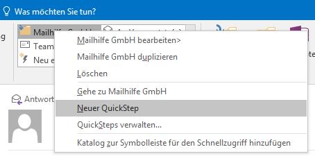 Neuer QuickStep
