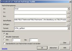 mail-merge-markoauswahl