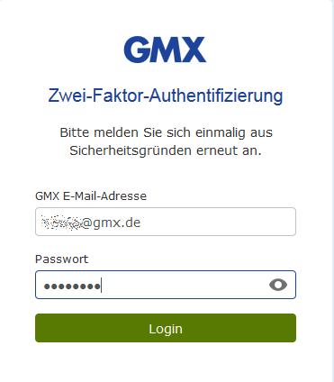 De de gmx posteingang login Gmx