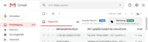 Werbung Google Mail